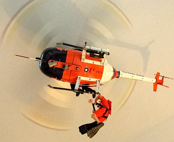 """stunning 1:6 scale USCG HITRON """"Fast Attack"""" Littlebird helicopter ..."""