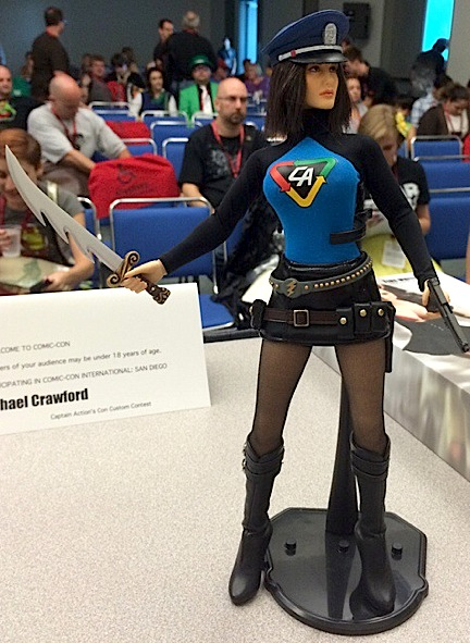 """A prototype of the new """"Lady Action"""" by (Photo: CAE)"""