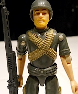 "Angelo briefly collected the 3.75"" version of GIjOE but soon realized it limitations and refocused his efforts on 1:6 scale. (Photo: Angelo D'Annibale)"