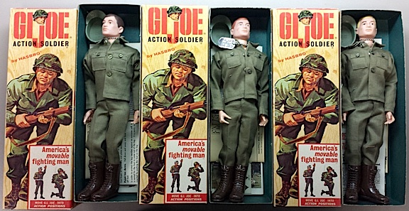 Of main interest to most fans, the three un-played with GIjOE Action Soldiers stand ready for action in a diorama display about the Korean War which, unfortunately, the museum's previous curator never created. These poor guys spent the next 5 decades in the darkness of their boxes, locked away and forgotten. (Photo: City of Dearborn)