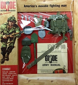 "A mint, unopened ""Combat"" set from the collection. Click to enlarge. (Photo: City of Dearborn)"