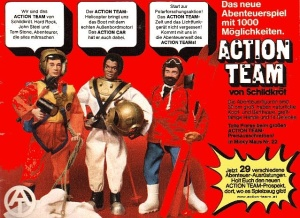 """If you wanted to buy a brand new GIJOE in 1974-77, one of your best bets was an """"Action Team"""" figure from Germany. Click to enlarge. (Photo: at-hq.blogspot)"""