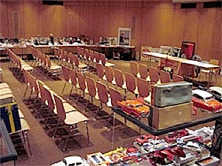 If you can make to Germany to attend the auction in person (lucky!), here's what the auction room looks like. Have fun! (Photo:
