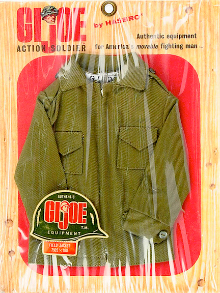 The vintage GIjOE Army Field Jacket proved to be a close match to Rocky's original uniform. (Photo: Bill Lawrence)