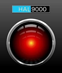 The immpassionless, sterile response of the Hal 9000 computer from the film, 2001: A Space Odyssey, reminds us much of Hasbro's current attitude toward GIjOE fans and collectors. (Art: mondspeer)
