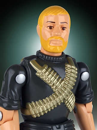"This is GIjOE will look like in 1:6 scale (12-inches tall) in 2015. That's right, Gentle Giant's new ""Rock 'n Roll"" GIjOE is 12 full inches of twisted steel and sex appeal. Actually, according to the product description, he'll be made of ""durable plastic."" As to sexy...we'll let you be the judge. (Photo: BBTS)"