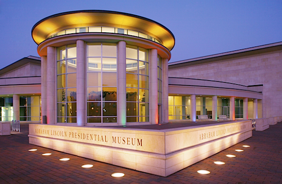 The Abraham Lincoln Presidential Museum in Springfield, IL, is one of the city's stellar attractions. (Photo: wikipedia)