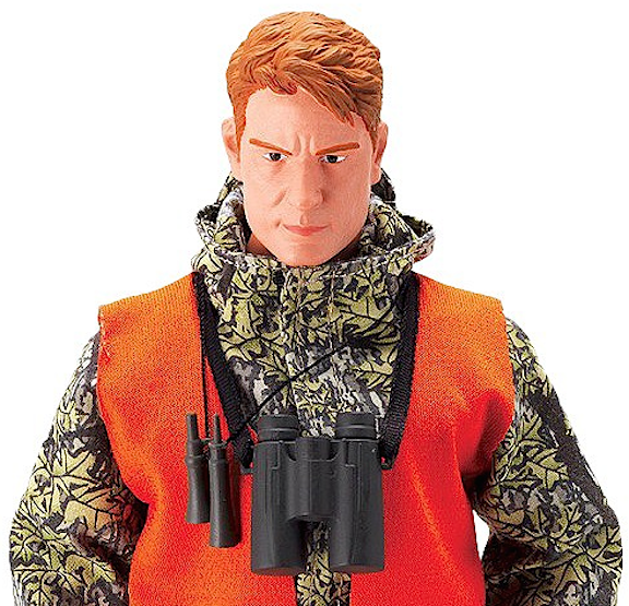 "What a great headsculpt! Without doubt, this new face is among our favorites from this new ""Wild Adventures"" line. The figures are a tad taller than GIjOE, but the heads are approximately the same size and will work well beside the rest of your existing 12-inch figures. (Photo: Target)"