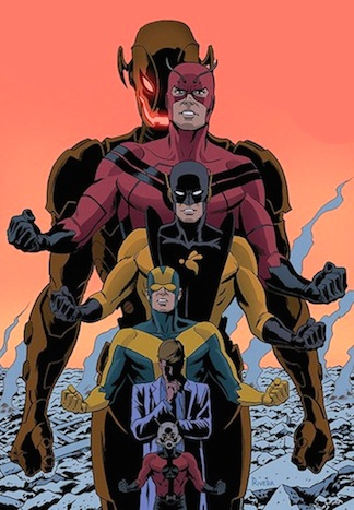 Williams' favorite comic character, Hank Pym, in his many superhero guises. (Photo: Wikipedia)