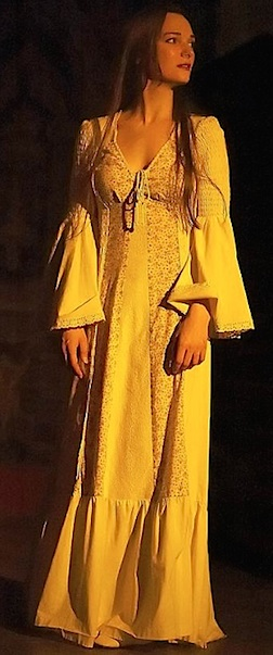 Votava in costume for a stage production. (Photo: Mary Votava)