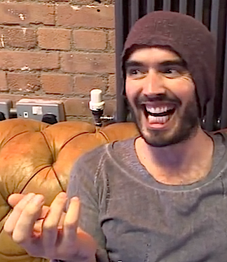 British comedian, Russell Brand, relishes discussing the OBL action figure in a video recently released on YouTube. (Photo: Russell Brand)
