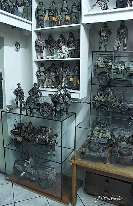 Glass shelving and display cases prove valuable ways to display figures while keeping them dust-free as well. (Photo: Jacek Sulowski)