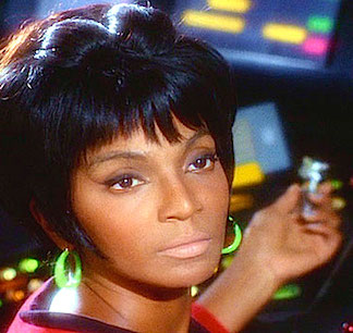 The camera LOVED Nichelle Nichols and wasted no opportunity to zoom in for yet another stunning closeup. Now, with the release of Star Trek on fully remastered DVDs, the benefits to fans are obvious (and appreciated). (Photo: CBS/Paramount)