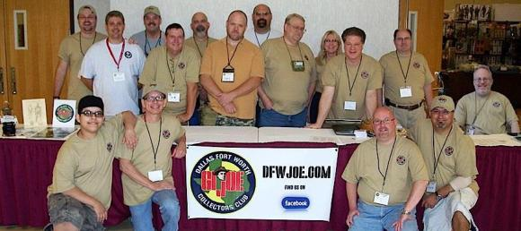 Since its founding in 1999, the DFW GIjOE Collector's Club has worked repeatedly with the national GIjOE club and continues to remain one of the most active and well-attended local divisions in existence. (Photo: DFW GijOE Club)