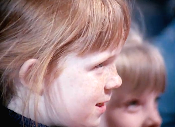 The film's restoration was so complete, that you could almost count each freckle and hair on the children's heads. Out-STANDING!