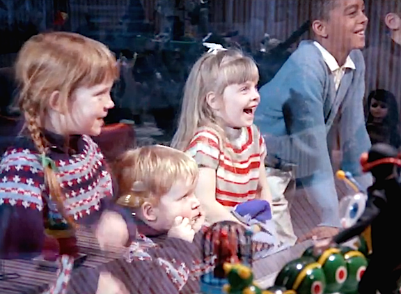 For the first time in 48 years, the faces and clothing of the young children in the 1966 short film, Toys, are clearly visible, almost startlingly so. The newly restored film is a timeless treasure of 1:6 scale animation and is held in the highest esteem by GIjOE fans worldwide. (Screenshot: NFB)