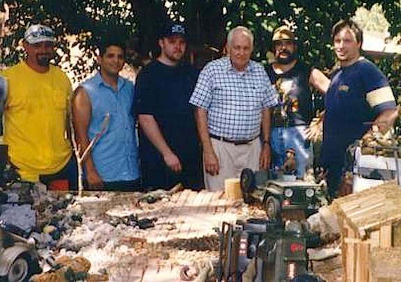 A Piece of Joe Fandom History—This photo was taken at the very first meeting of the members of the LSSR. They include
