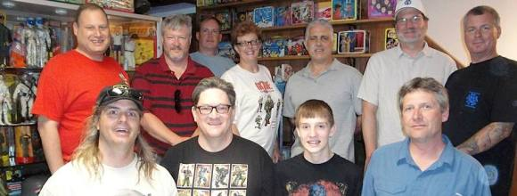Members of the Minnesota Division of the GijOE Collector's Club remain active and supportive of each other's collecting efforts, utilizing Facebook as a way to share messages and trade and sell with other members. (Photo: MGIJCC) Click to enlarge.