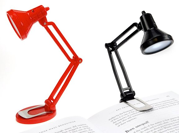 "More expensive? Yes. Better? Maybe. These ""Tiny Tim Desk Lights"" are similar and slightly superior to the dollar store versions, but they're also much more expensive. Caveat Emptor!  (Photo: Amazon)"