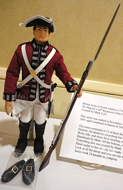 For King and Country! Customizer extraordinaire, Mark Cole, created this outstanding custom British Soldier for the competition at Joelanta 2014. OutSTANDING! (Photo: Mark Otnes)
