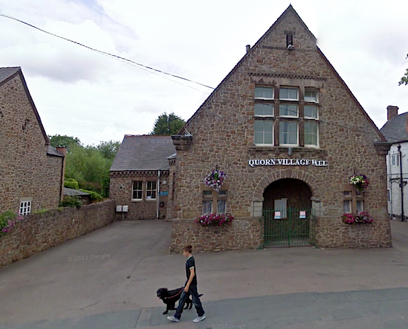 Quorn Village Hall, UK (Photo: Google Maps)