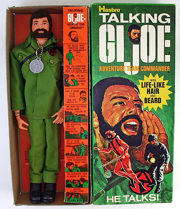 Now Hear This—The 1970s Talking Commander GIjOE remains of the most popular pull-string figures ever made. Years later, the GIjOE Collector's Club would release reproductions utilizing new chip technology mated with old-fashioned pull-string technology. FanTASTIC! (Photo: ebay)