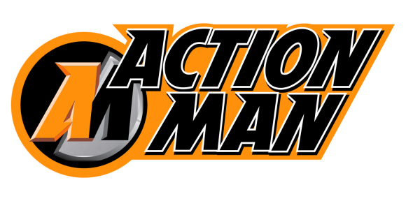 The modern-day Action Man logo is superb and would look GREAT on some all-new 50th Anniversary products! (Graphic: Wikipedia)