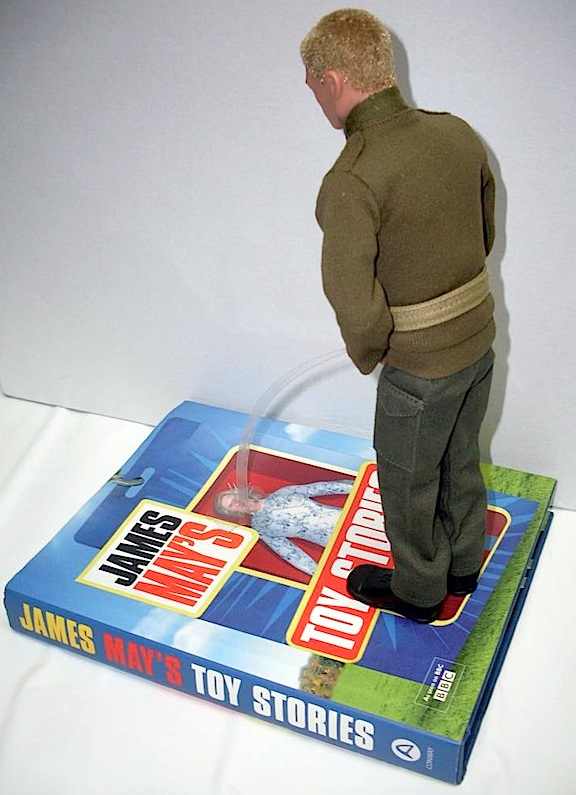 Take THAT, James May! One loyal Action Man decided to share his feelings regarding BBC2's host of James May's Toy Stories. (Photo: Sierra1)