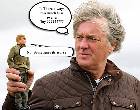 James May may not understand the attraction, but Action Man fans around the world surely do! (Photo: BBC/Anne Binckebanck)
