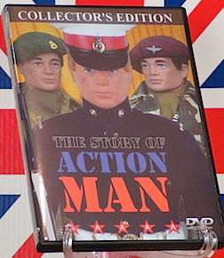 The Story of Action Man has been faithfully recounted on a superb 2013 DVD by Australia's Tony Roberts. (Photo: ebay)