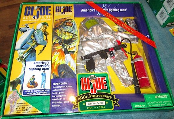 Many collectors of 12-inch GIjOE would reasonably argue that the 40th Anniversary line has been DePriest's greatest work to date for GIjOE. Unfortunately, this line was discontinued...in 1994!