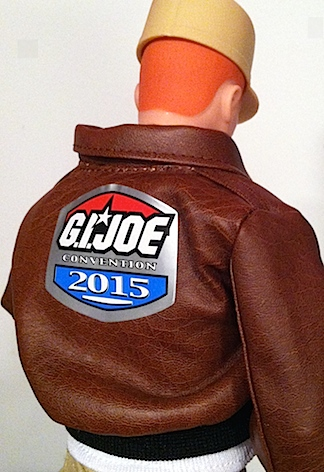 Many fans also received  FREE JoeCon 2015 jackets for their Fantastic Freefall figures. (Photo: Mark Otnes)