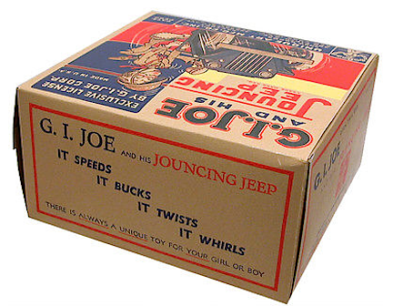 The top panel view of the superb repro box by Toy Tent. (Photo: Toy Tent)
