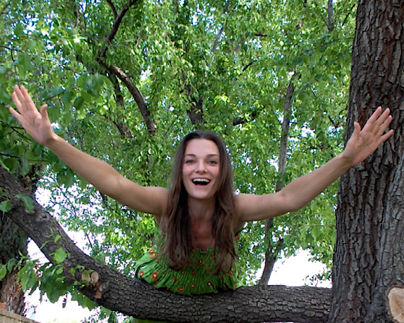 If you need someone to climb a tree for you, you know who to call. Monkey Woman! (Photo: Mary Votava)