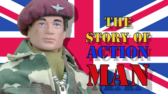 With a Face Like THIS— It's easy to understand how millions of young children would be inspired to emulate their real-life heroes. Go, Action Man! (Photo: Tony Roberts) Click to enlarge.
