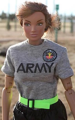 Super Soldiers— Each of Benson's figure have been carefully and accurately outfitted for the most realism, right down to the smallest details, including tiny PT patches from Patches of Pride. EXCELLENT! (Photo: Steve Benson)