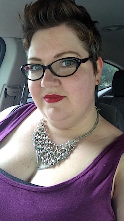 Abi Bechtel, the Tweeter who targeted Target for their encamps and aisle colors. (Photo: Abi Bechtel)