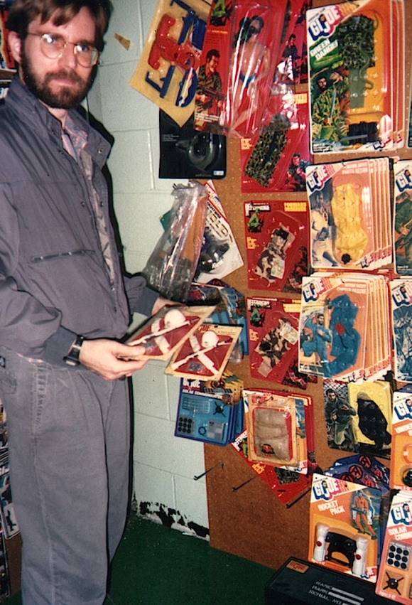 Almost beyond imagination— So many vintage GIjOE toys, so little time. What an amazing memory! (Photo: Wayne Faucher) Click to enlarge.