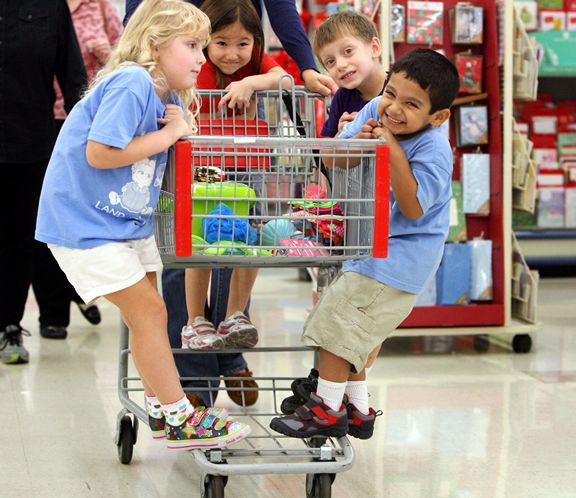 Do kids REALLY care about colors used in store displays? Or are toys—just TOYS? (Photo: tampabay.com)
