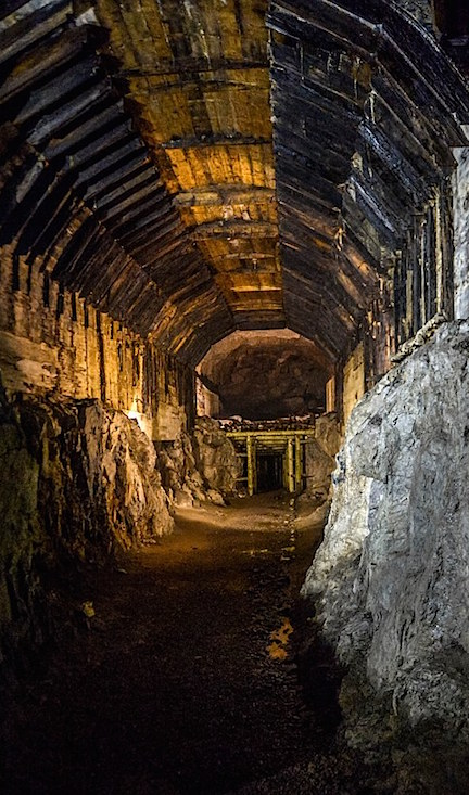 Dangers Abound— In a dark, sealed train tunnel like this one, the potential for deadly traps including land mines, trip wires and other powerful explosive devices are all too likely. (Photo: Dailymail)