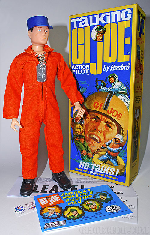"The new 2015 ""Talking G.I. Joe Action Pilot,"" available only from the GIjOE Collector's Club. (Photo: GIJCC) Click to enlarge."