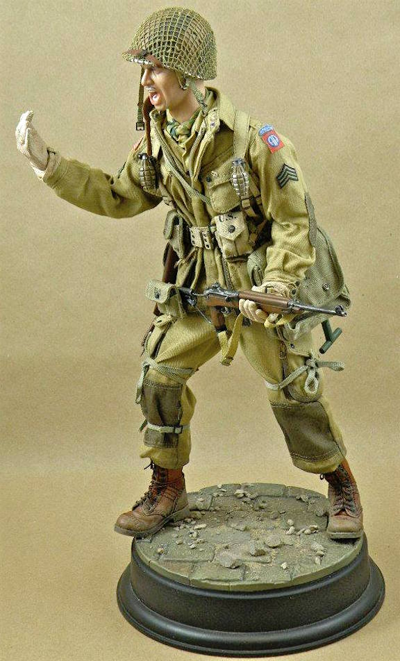 Custom 82nd Airborne Division Paratrooper by Miguel Tavares (Photo: Miguel Tavares)