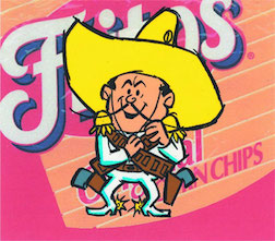 The Frito Bandito character as it appeared on a sack of Fritos Corn Chips. (Photo: Frito-Lay)