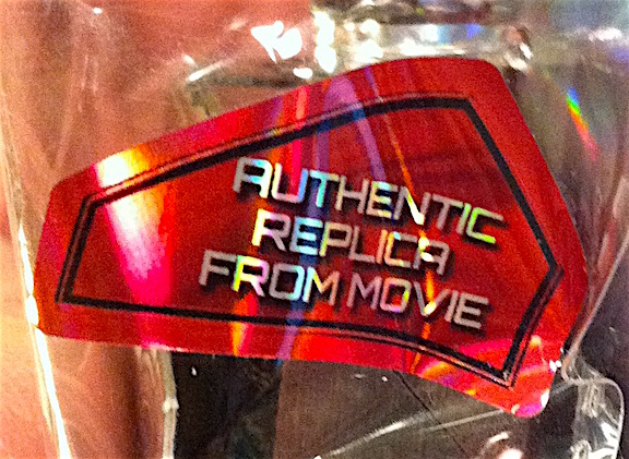 More good news— The hammer isn't just an ordinary looking tool. It was carefully styled and copied from the one in the Marvel films (as this sticker confirms). (Photo: Mark Otnes)