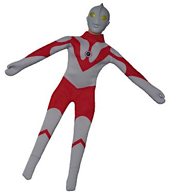 Where's my boots? So far, Medicom's upcoming costume for Ultraman appears to be sans boots. It seems hard to believe CAE would allow this set to go out without any footwear, but we'll see! (Photo: Ed Catto)