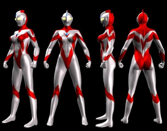 If Ultraman is a hit for CAE, can an Ultragirl costume be far behind for Lady Action? Stand by, fans! (Photo: Jazz & Blues)
