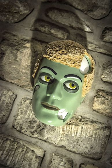 """John Barton's outstanding """"Zombie Edition"""" Action Man sculpture, was (sadly) produced only as a VERY limited-edition—of 1. (Photo: John Barton)"""